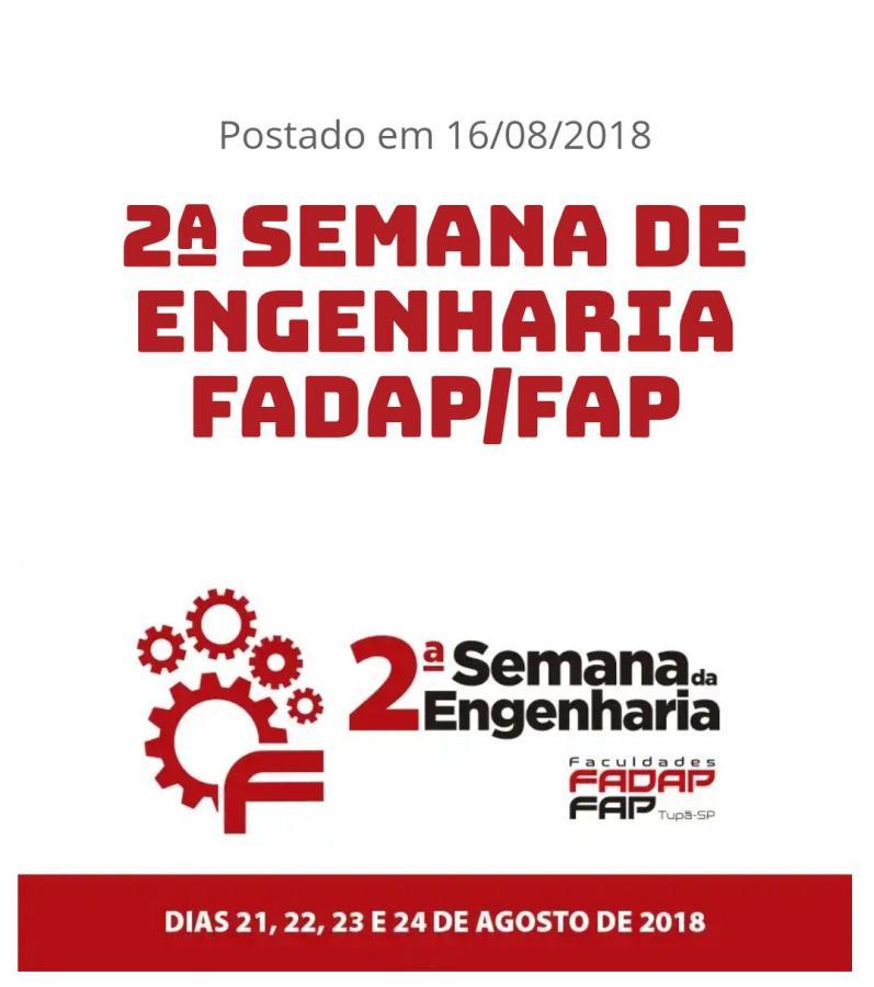 ETEC PARTICIPA DA 2º SEMANA DE ENGENHARIA DA FADAP
