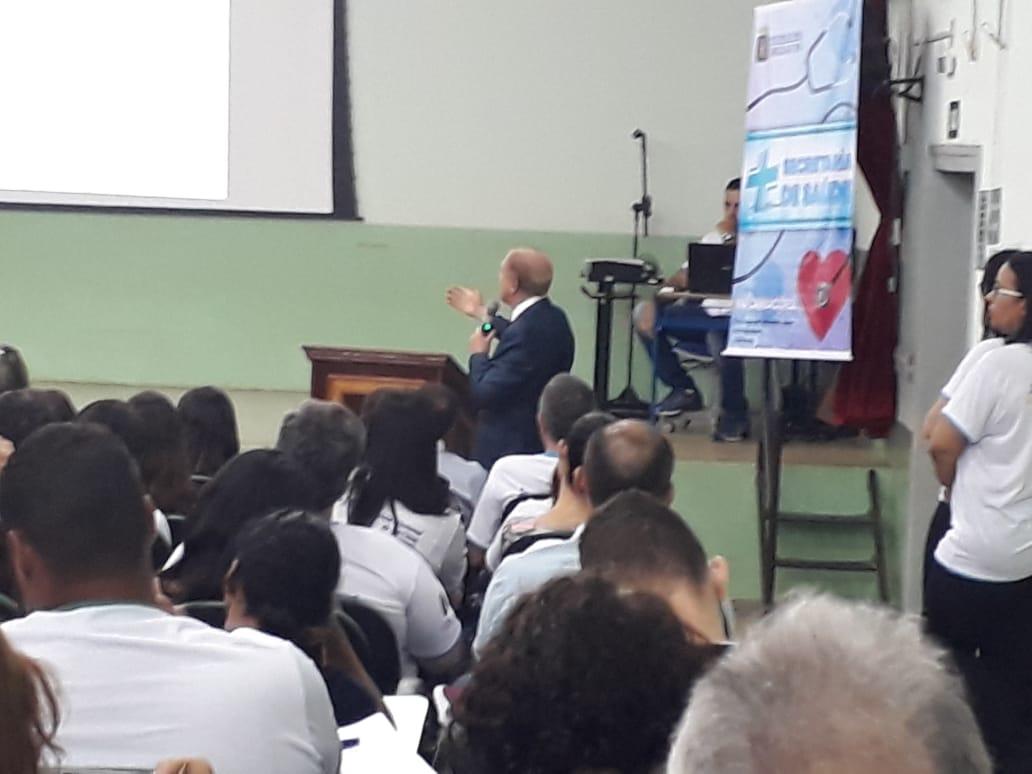 ALUNOS E PROFESSORES DO CURSO TÉCNICO EM ENFERMAGEM PARTICIPARAM DA 16ª CONFERÊNCIA MUNICIPAL DA SAÚDE