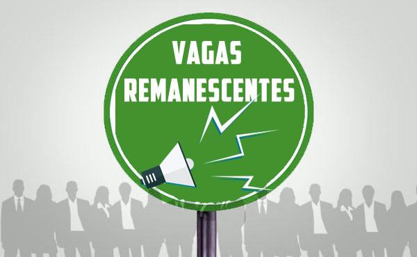Inscri��es para Vagas Remanescentes