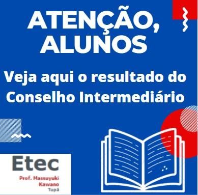 Resultados - Conselhos Ensino m�dio, ETIM e Novotec