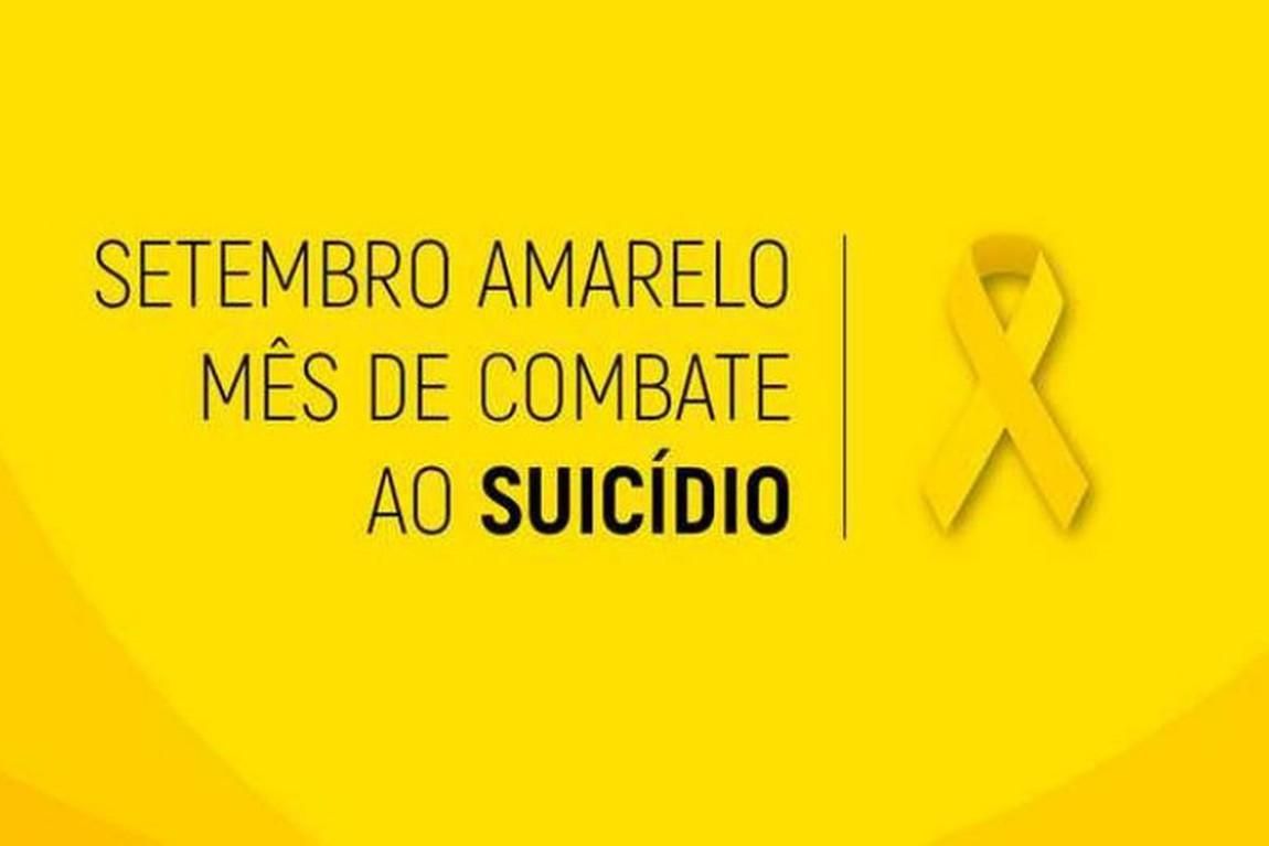 SETEMBRO AMARELO: CAMPANHA DE PREVEN��O AO SUIC�DIO
